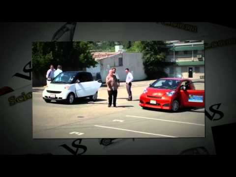 Scion Iq Vs Smart Car Scionwc Com Youtube