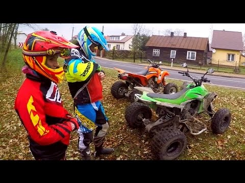 ATV madness ride / Quad bikes offroad riding / highway to he