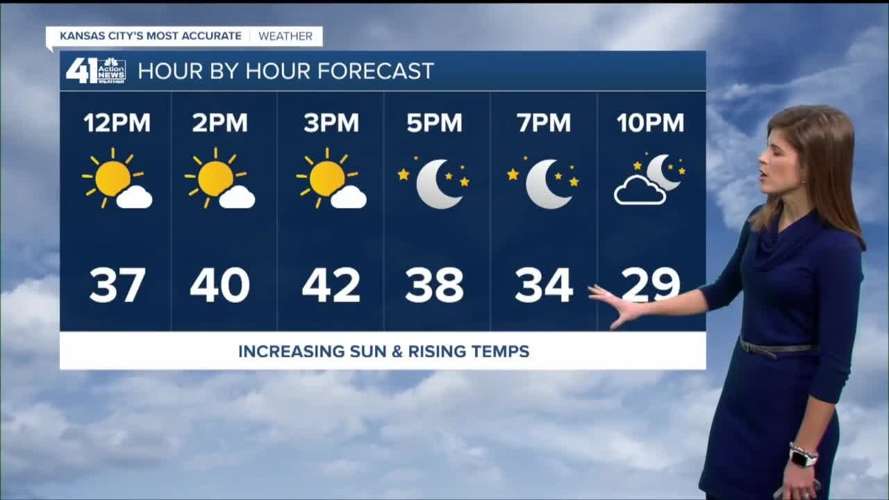 Monday afternoon forecast update