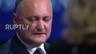 Russia: Moldovan president calls EU a