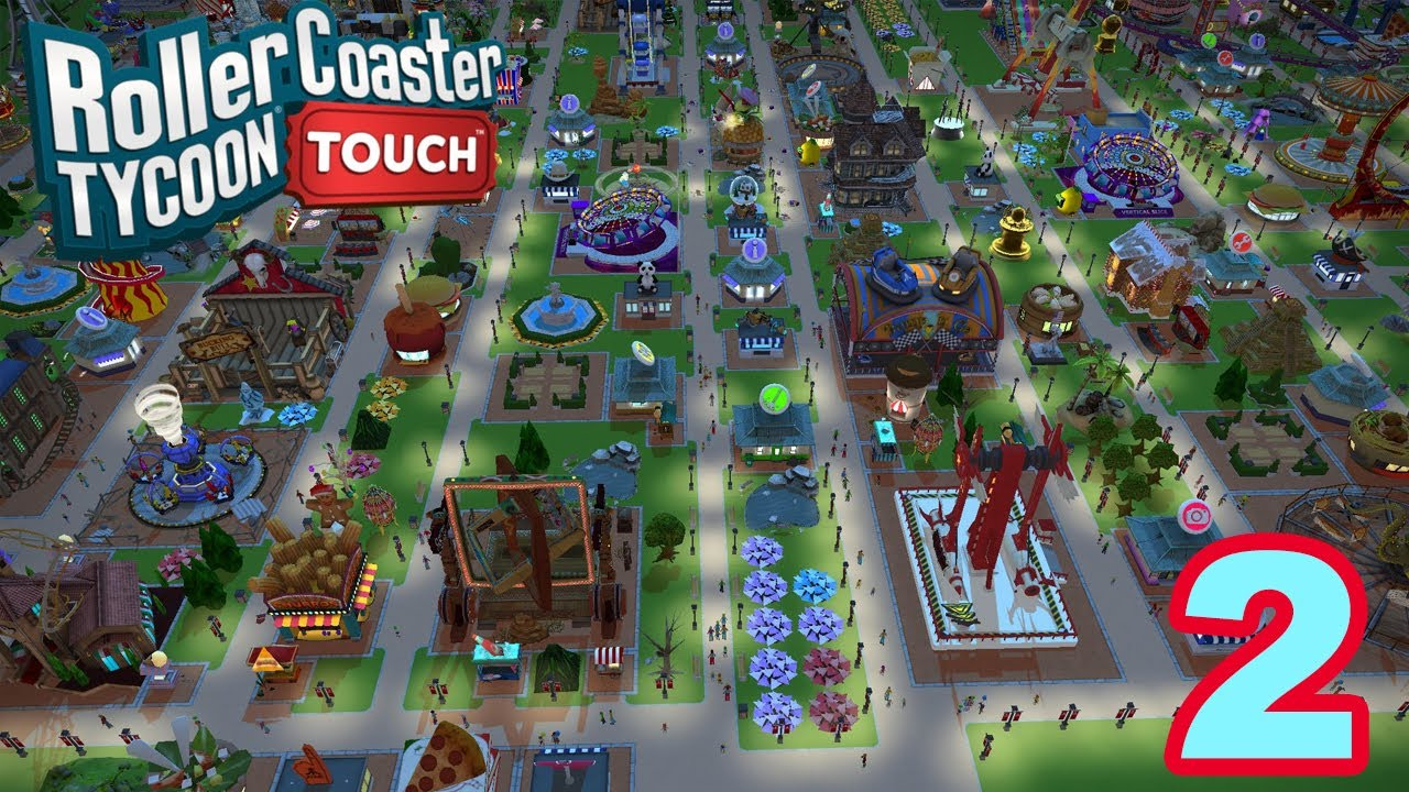 Let's Play ROLLER COASTER TYCOON TOUCH - Gameplay Walkthrough (iOS/Android)  - #2