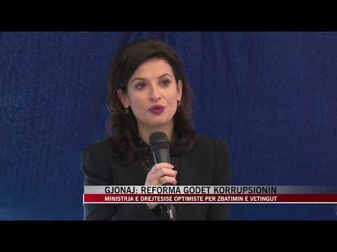 Gjonaj: Reforma godet korrupsionin - News, Lajme - Vizion Plus