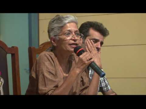 Asserting the Right to Freedom of Thought and Expression : Gauri Lankesh