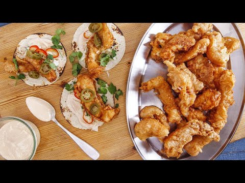 Beer-Battered Fish Tacos | Rachael Ray Show