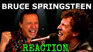 Vocal Coach Reacts To Bruce Springsteen - Born In The USA - Live - Ken Tamplin