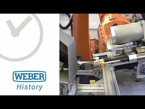 Schraubsystem für fließlochformende Schrauben RSF20 - WEBER Schraubautomaten