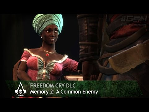 Assassin&39;s Creed: Freedom Cry - Memory 02 - A Common Enemy 100% Sync