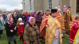 Крастный ход в храме села Анастасиевка