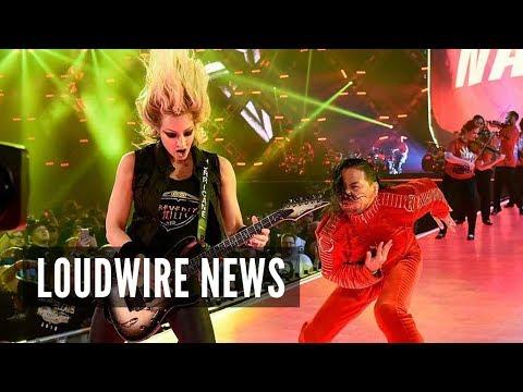 Rock & Metal Stars Dominate WWE WrestleMania Weekend