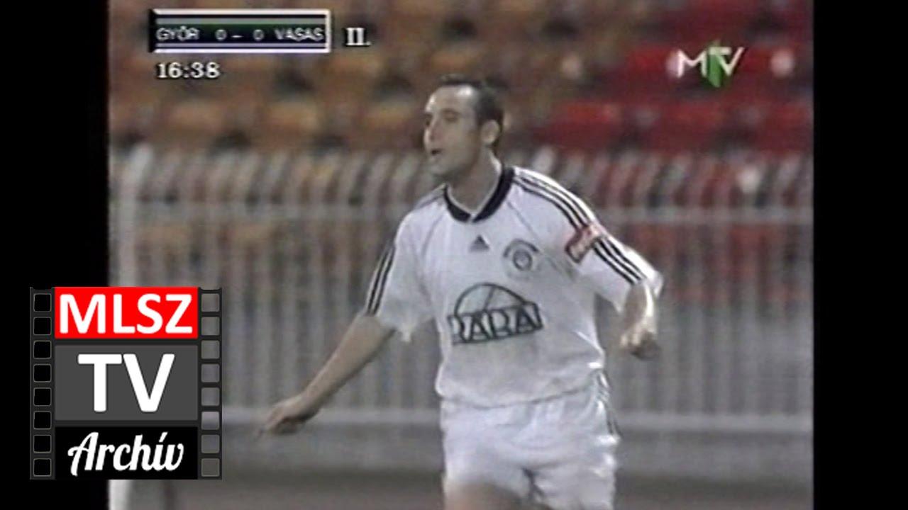 Győri ETO-Vasas | 2-0 | 1999. 09. 10 | MLSZ TV Archív