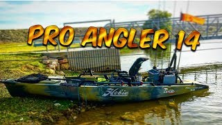 2018 Hobie Pro Angler 14, Camo Series, Setup and on the Water!!! Outback or PA?