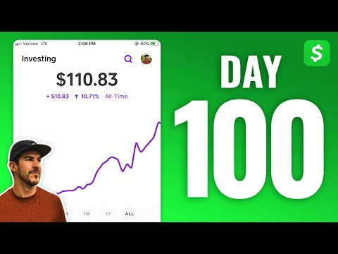 Investing $1 In Stocks Every Day With Cash App - DAY 100