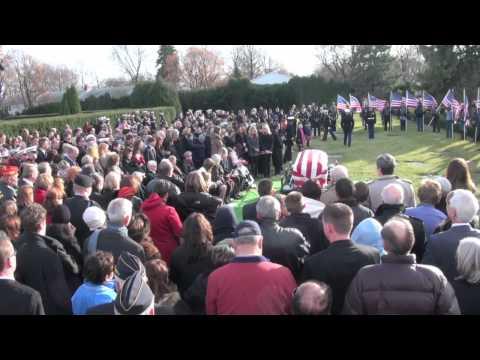 USMC James Bray Stack Full Military Honors Burial at Memory Gardens Arlington Heights