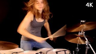 July Morning (Uriah Heep); drum cover by Sina