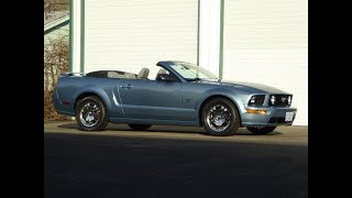 """2005 Ford Mustang GT Premium Convertible """"SOLD"""" West Coast Collector Cars"""