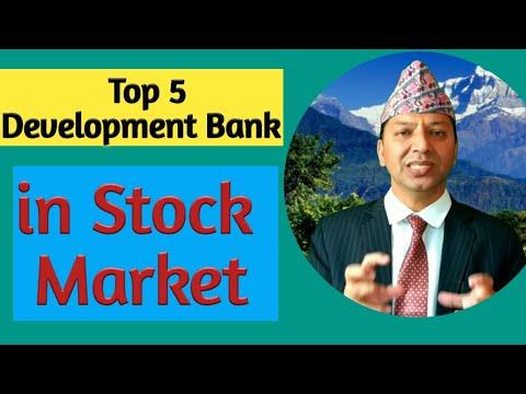 Top 5 Development Bank in Stock Market.