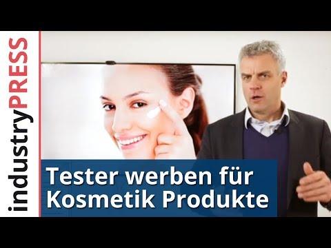 """Online Marketing Beispiel """"Tester werben für Kosmetik Produkte"""""""