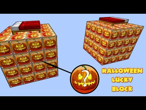 видео: Лаки Бедварс - Хеллоуин Лаки Блок!
