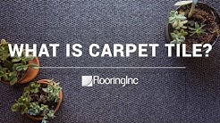 What are Carpet Tiles?