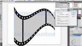 Film strip in Illustrator