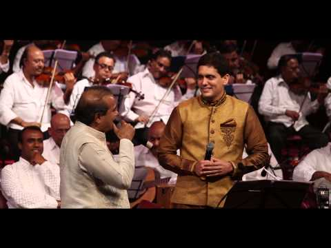 "Suresh Wadkarji & Dr Rahul Joshi singing "" Huzur Is Kadar bhi na "" at NCPA, 1st March."