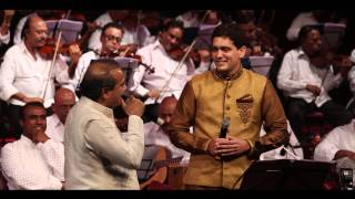 "Suresh Wadkarji & Dr Rahul Joshi singing "" Huzur Is Kadar bhi na "" at NCPA, 1st March."