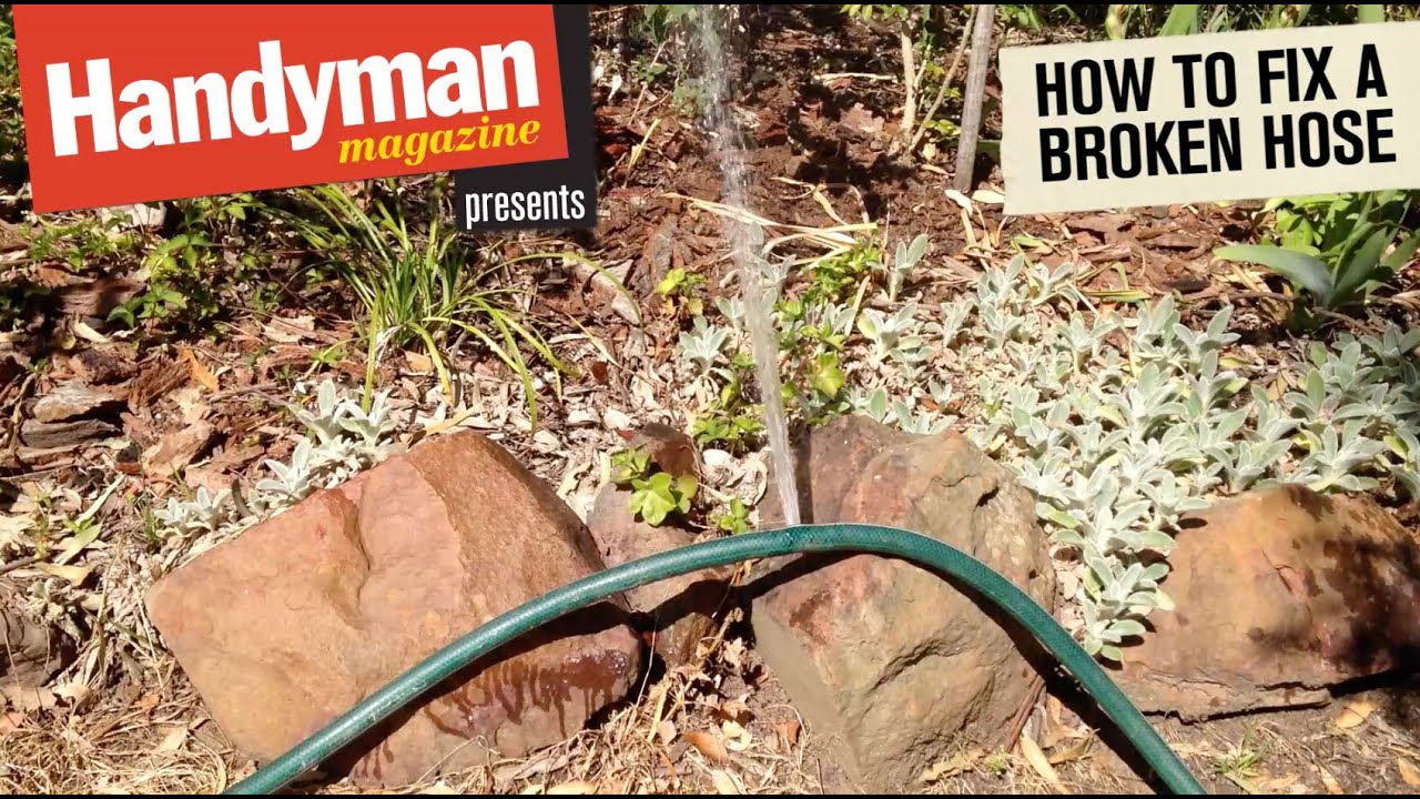 How To Fix A Leaking Garden Hose Youtube