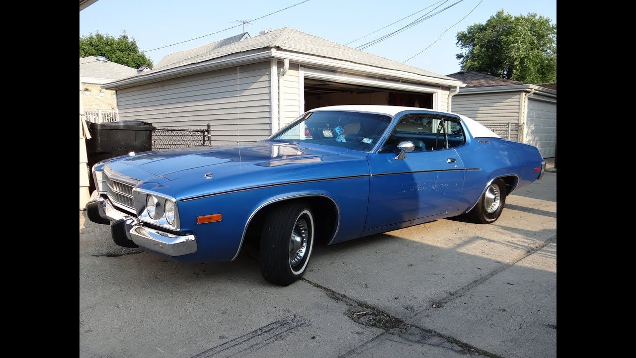 1973 Plymouth Satellite Sebring 318 V8 5k Miles Tour Youtube