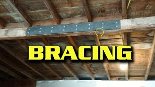 Quick Fix -- Bracing A Sagging Garage Beam