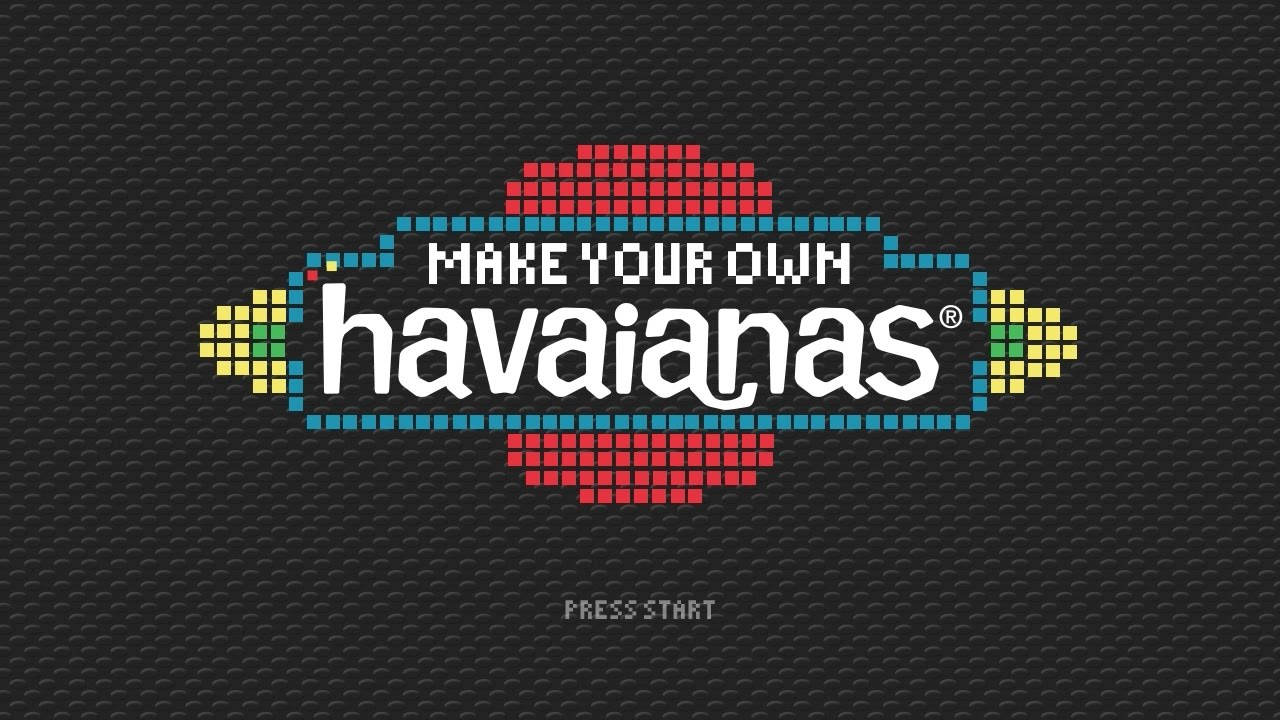 b818fc2aa25d Make Your Own Havaianas 2017 - YouTube