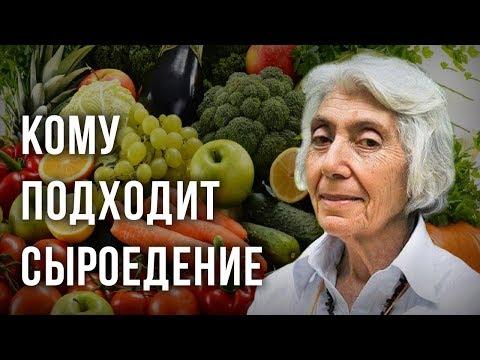 Кому подходит сыроедение. Марва Оганян
