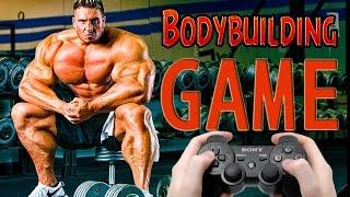 ИГРЫ КОТОРЫХ НЕТ: Игра про БОДИБИЛДИГ (PS4) BODYBUILDING GAME, Новые Игры PS4 2017