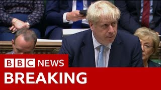 Boris Johnson: Brexit plans would 'honour referendum' - BBC News