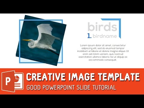 Creative Image Template - Good Powerpoint Slide Tutorial ✔