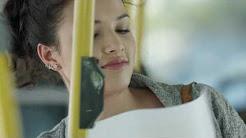 Bio Oil consumer TV ad City bus Pidgin