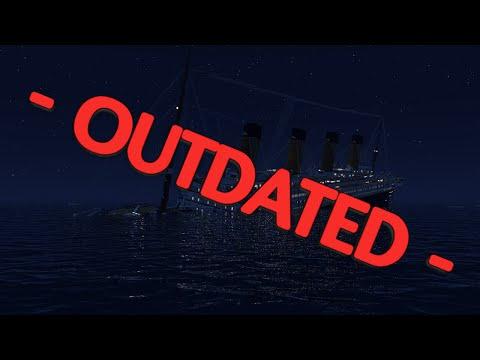 Minecraft RMS Titanic sinking at 1.45 AM