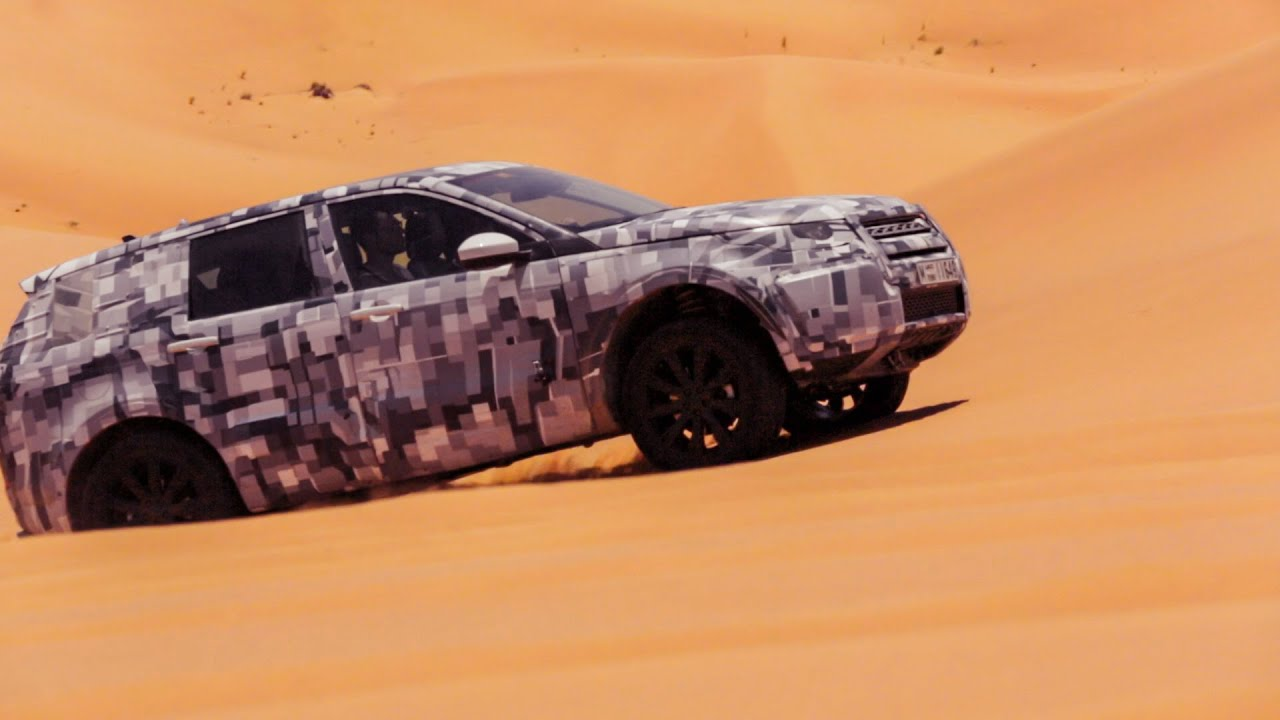 Land Rover Discovery Sport Middle East Testing