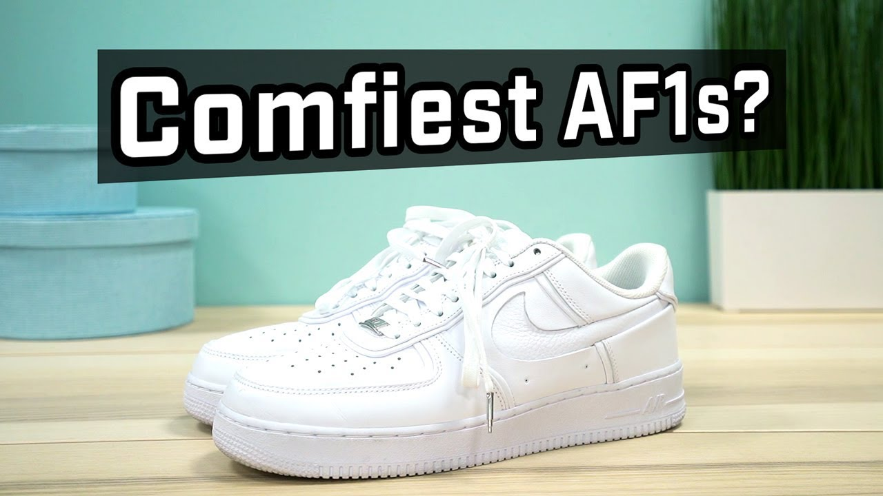 ULTIMATE COMFORT John Elliott x Nike Air Force 1 REVIEW