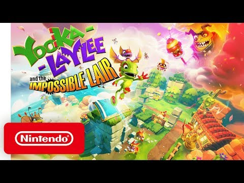 Yooka-Laylee and the Impossible Lair - Announce Trailer - Nintendo Switch