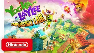 Download Yooka-Laylee and the Impossible Lair - Announce Trailer - Nintendo Switch Mp3 and Videos