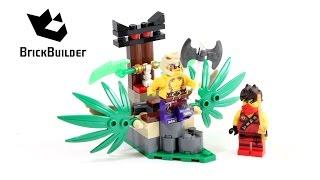Kijk Lego Ninjago 70752 Jungle Trap filmpje