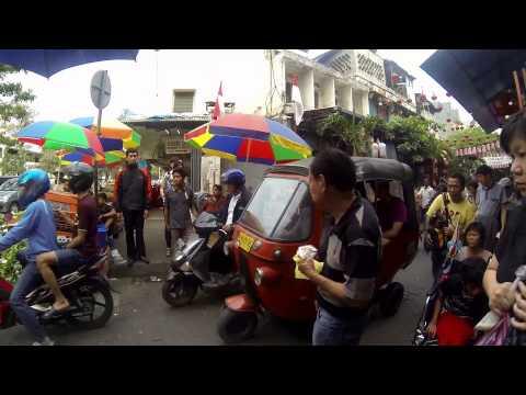 Jalan di Markets di Jakarta Indonesia