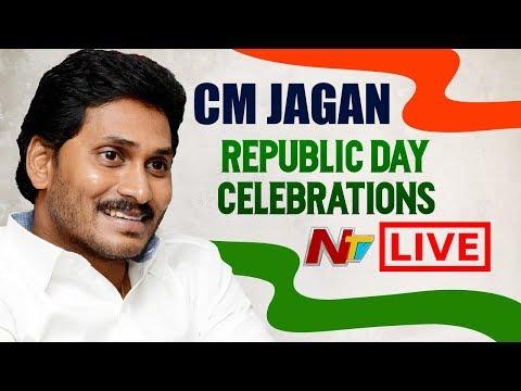 CM YS Jagan Republic Day Celebrations LIVE | Republic Day 2020 LIVE In Vijayawada | NTV Live