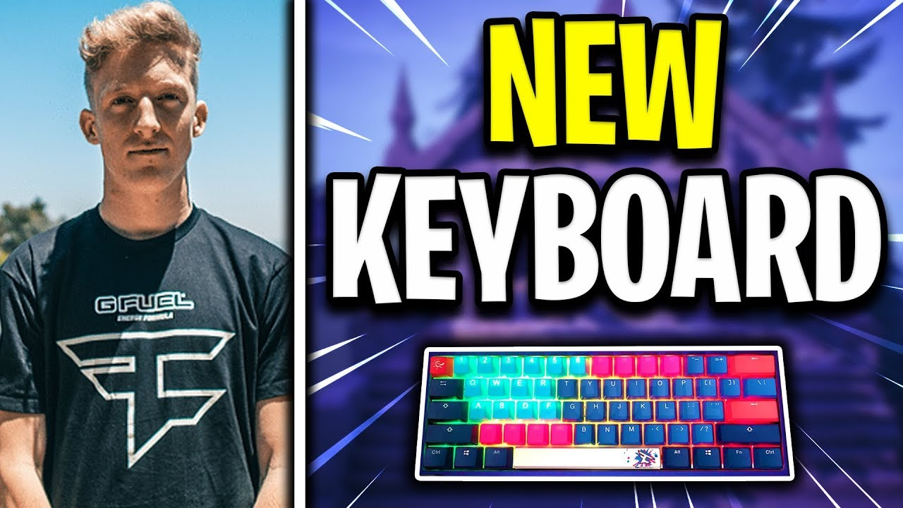 TFUE'S *NEW* KEYBOARD EXPLAINED (Keycaps, Spacebar and MORE)