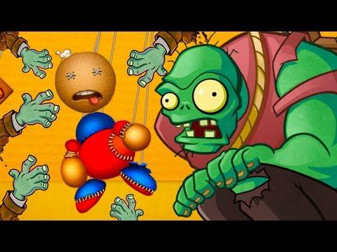 ЗОМБИ и Марионетка против АНТИСТРЕССА Бадди #64 Грибы поганки и призраки в веселой игре с Кидом