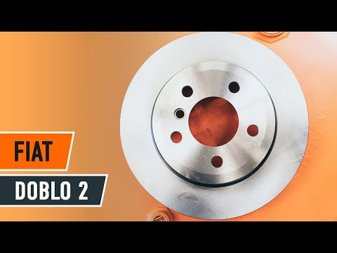 How To Replace Front Brake Discs And Brake Pads On Fiat