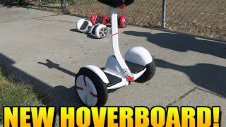 RIDING THE BRAND NEW HOVERBOARD! (NOT OUT YET) - Self Balancing, 2-Wheel, Smart Electric Scooter