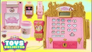 Disney Princess Style Collection Coffee Maker & Light Up Play Watch Play Sets