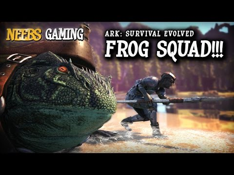 Ark: Survival Evolved: Frog Squad!!!