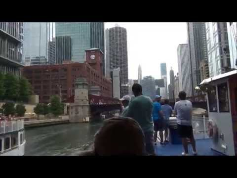 Heading East to the Midwest (Pt. 105) - Chicago: Wendella River Cruise